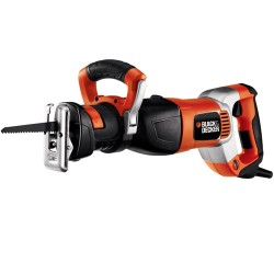 Fierastrau orizontal (sabie) 1050W, 2400 RPM + kitbox si 3 panze, Black&Decker