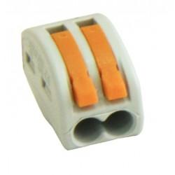 Conector rapid clipsare conductor flexibil 2x0,75-4 mmp