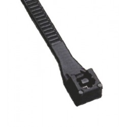 Colier nylon negru Elvon  500x4,5mm   Pret/Set/100Buc