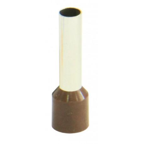 Pini terminali Cu izolati 10,00mmp/18mm